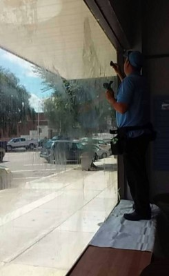 Store Front Window Cleaning in Wytheville, Virginia