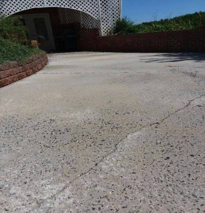After Concrete Cleaning Wytheville, VA